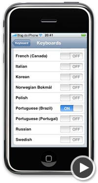 Dicionário Português do Brasil no iPhone
