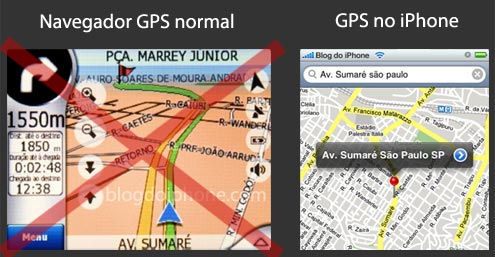 GPS no iPhone