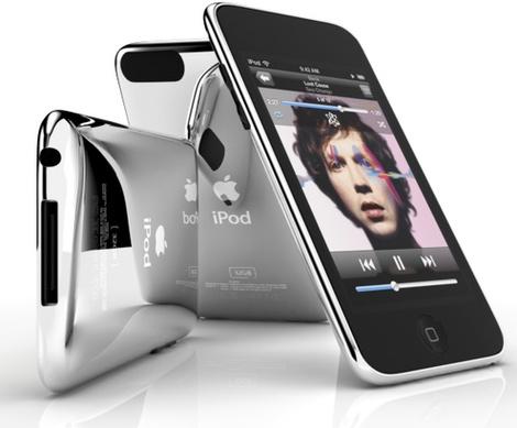 iPod touch segunda geração