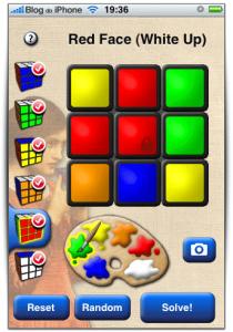 Seleção de cores