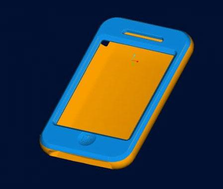 Capa para um suposto iPhone nano