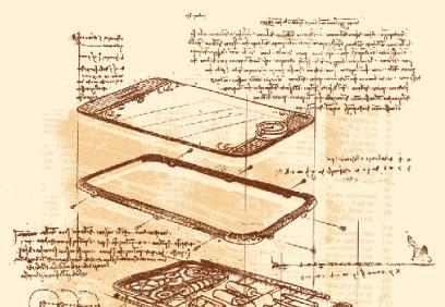 Esboços de Da Vinci