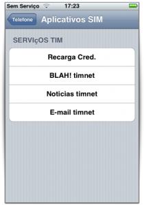 Aplicativos SIM