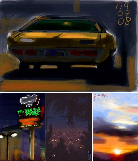Pinturas feitas no iPhone