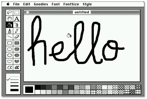 MacOS Classic em um iPhone