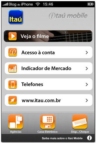 Itaú Mobile na App Store