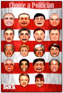 Escolha seu político