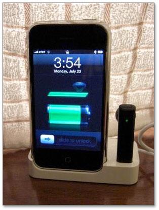 Interação do fone com o sistema do iPhone