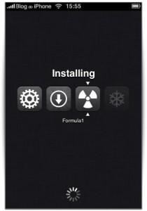 Instalação de aplicativos