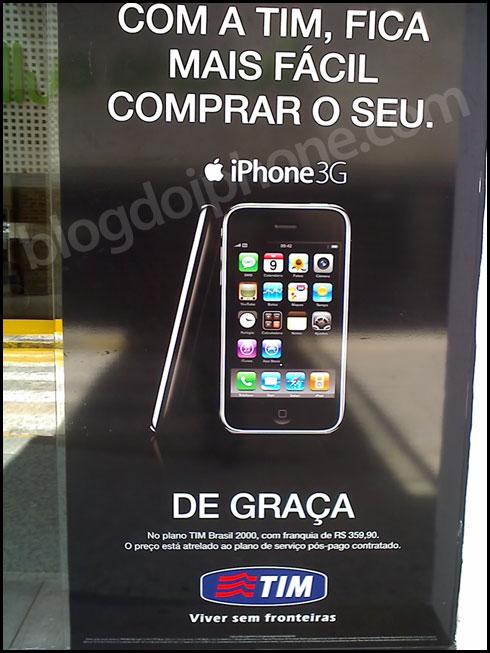iPhone de graça pela TIM em Recife