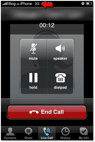 VoIP pela rede 3G