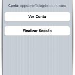 Gestão de contas da App Store