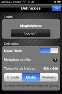 Conta do Flickr