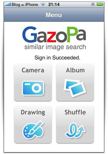 GazoPa para iPhone