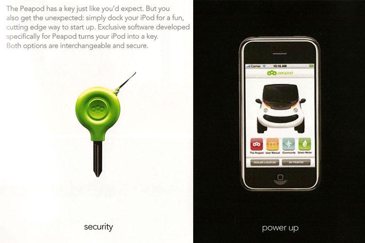 Uso do iPhone como chave de ignição