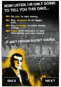 Objetivos do jogo: brigar e ganhar dinheiro