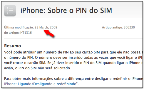 Ivone voltou a ser iPhone