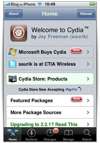 MS Cydia