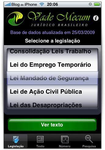 68 legislações sempre à mão