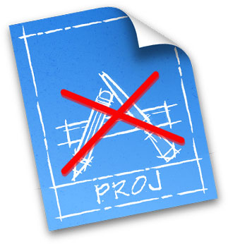 Projetos eliminados
