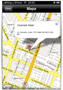 Mapa do cinema