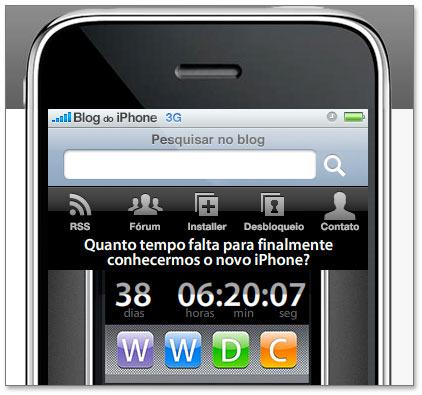Contador para a WWDC09