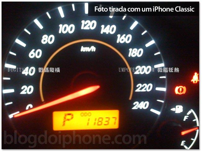 Foto tirada de um iPhone Classic (2G)