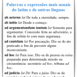 Expressões em latim