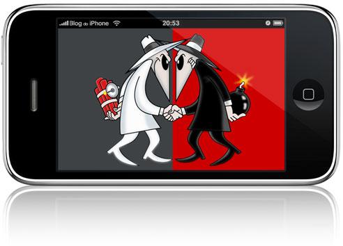 Espião no nosso iPhone?
