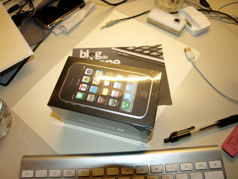 iPhone 3G S no Blog do iPhone