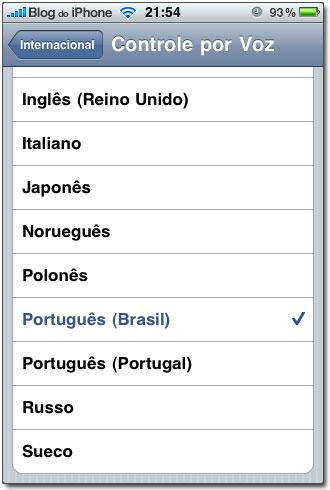 20 línguas compatíveis