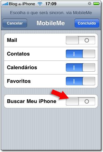 Busque meu iPhone