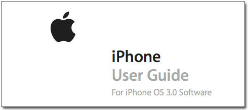 Guia do Usuário do iPhone OS 3.0