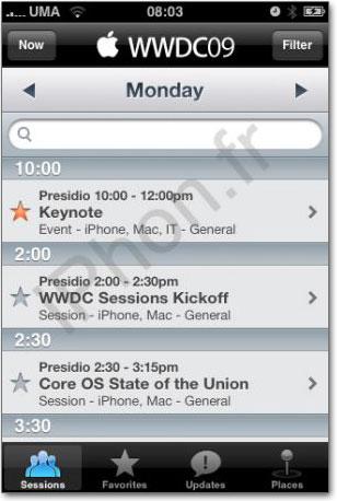 Aplicativo WWDC