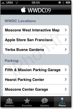Aplicativo especial WWDC