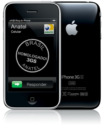 iPhone 3GS homologado