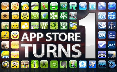 1 ano de App Store