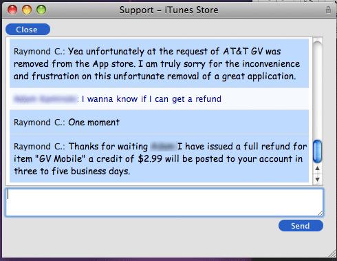 Resposta oficial da Apple