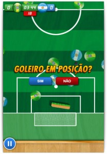 Posicionamento do goleiro