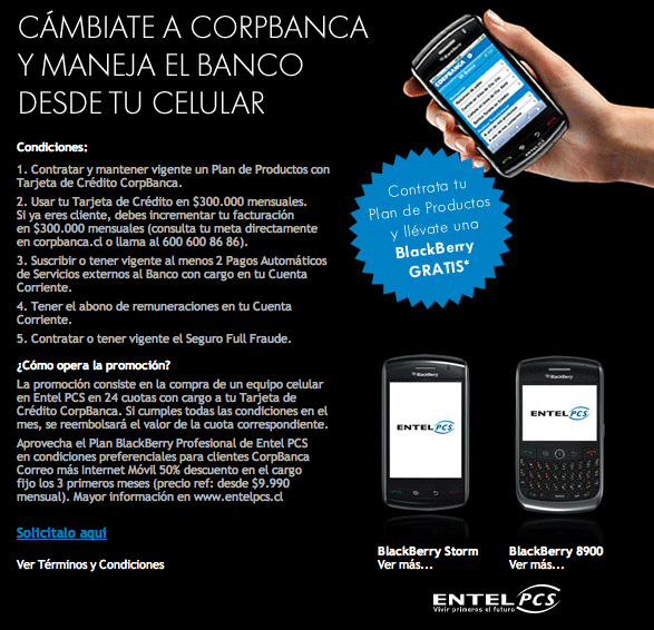 BlackBerry grátis