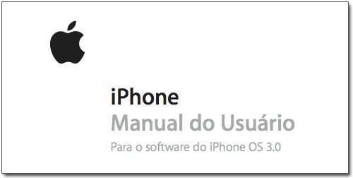 Manual do iPhone em português