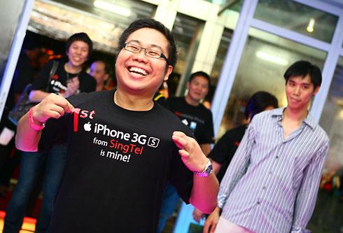 iPhone 3GS em Singapura