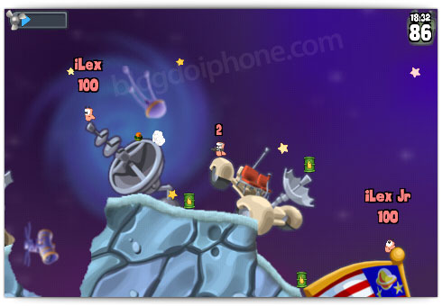 Worms para iPhone
