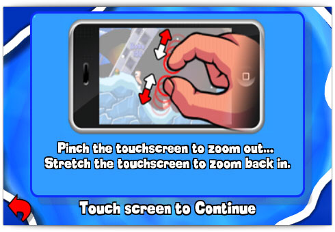 Uso do multi-touch no jogo