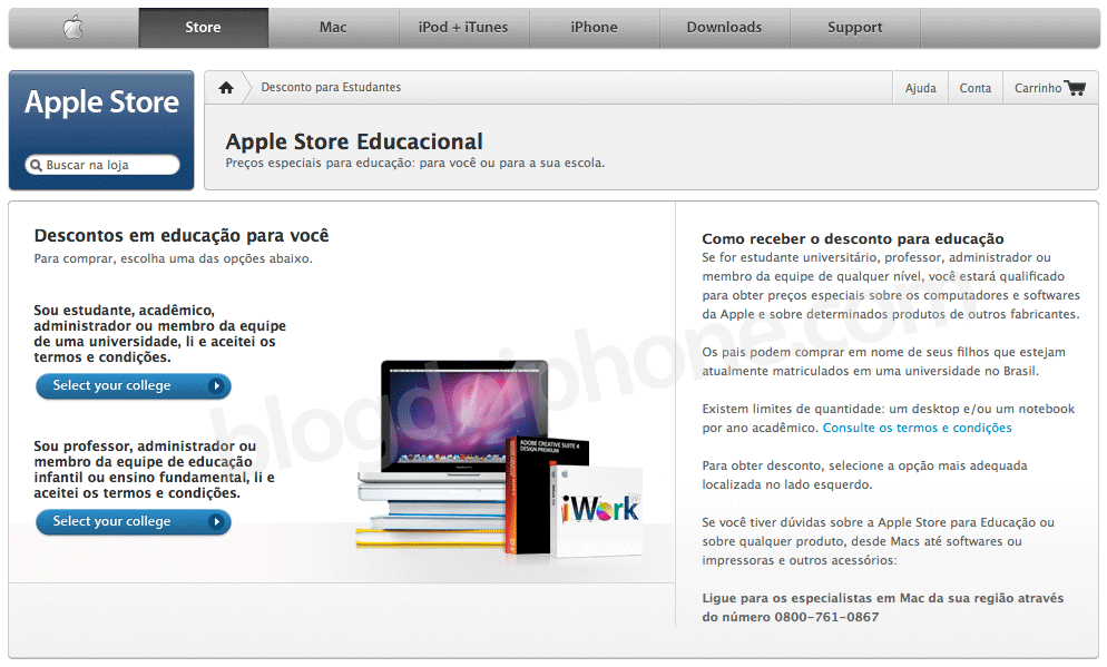 Apple Store Educacional