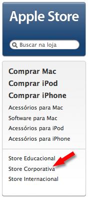 Apple Store Corporativa