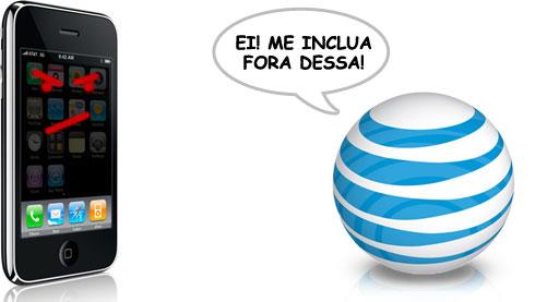 AT&T joga toda a responsabilidade na Apple