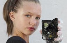 iPod que explodiu