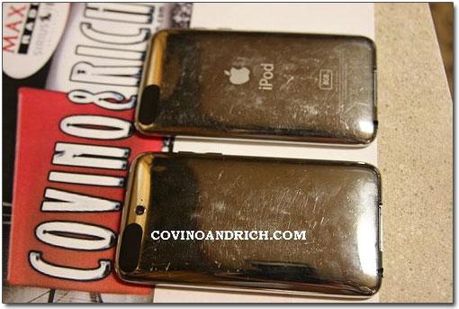 Comparação com o iPod anterior