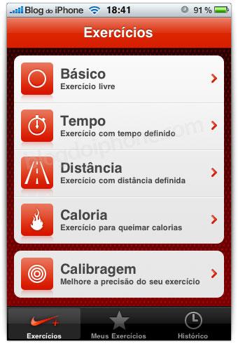 Aplicativo Nike + iPod